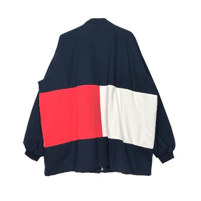 color anorak jumper navy